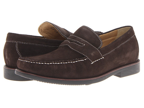 Steptronic - Monterey (Brown Leather) Men's Slip on Shoes