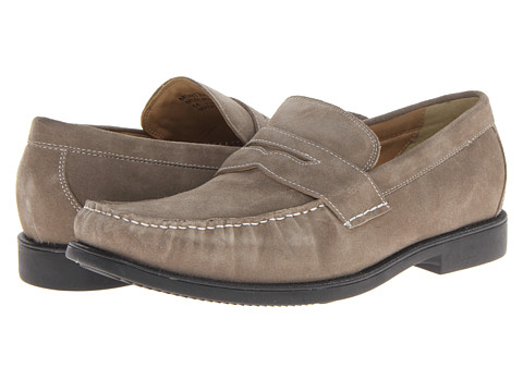 Steptronic - Monterey (Antelope Suede) Men's Slip on Shoes
