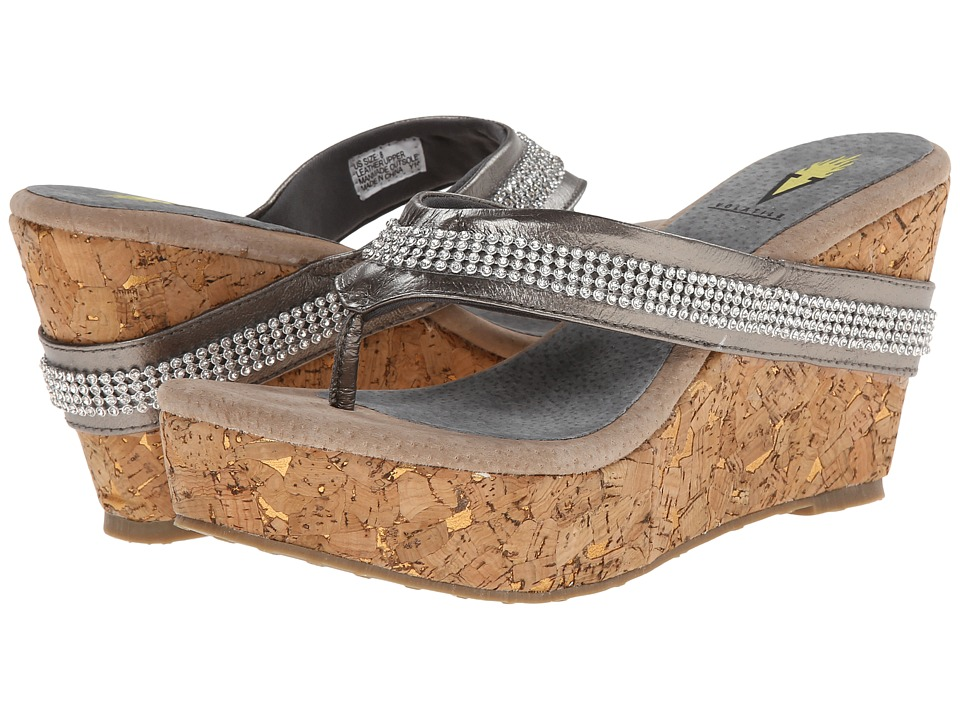 $19.99 More Details · VOLATILE - Kala (Pewter) Women's Wedge Shoes