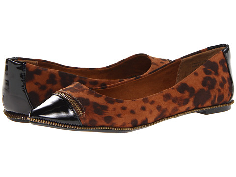 Yellow Box - Lynn (Cheetah) Women's Dress Flat Shoes