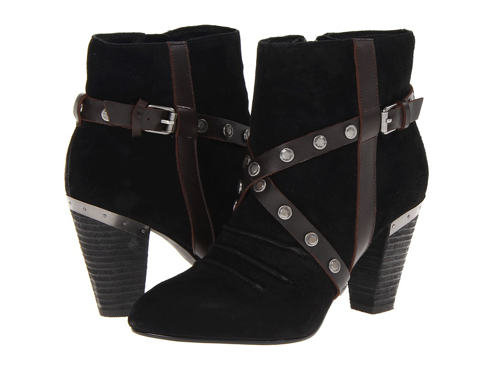 MIA Limited Edition - MLE - Fernandaa (Black Suede) Women's Boots