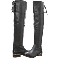 MIA MLE Leiutenantt (Black Leather) Footwear
