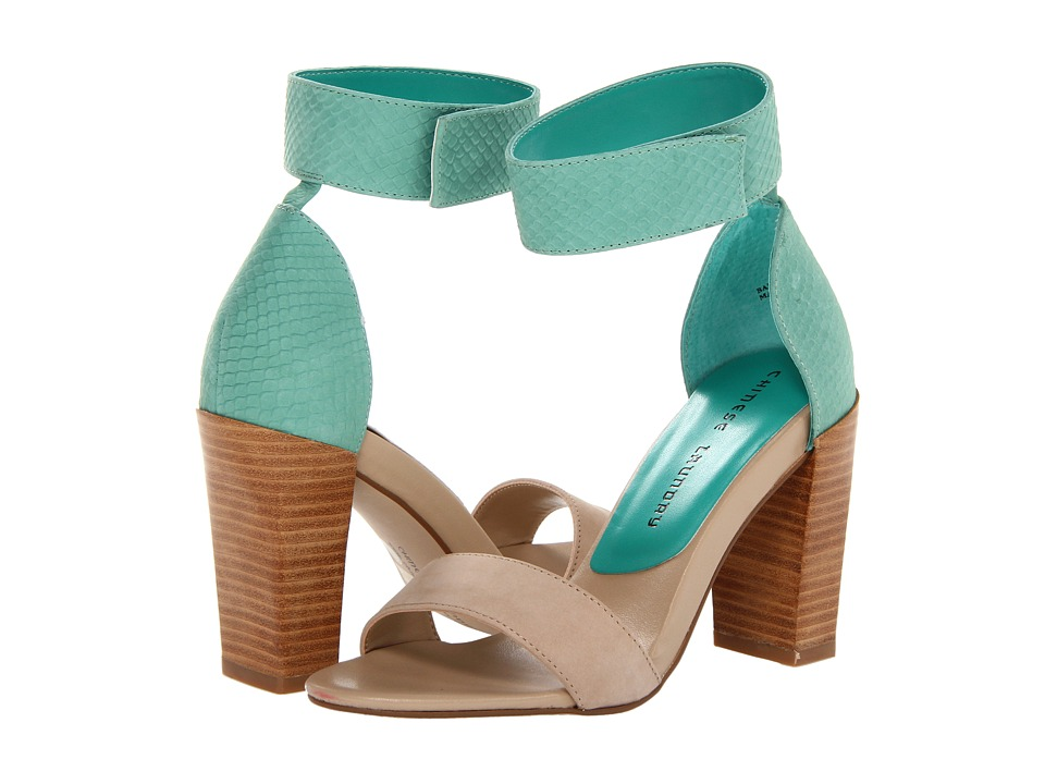Chinese Laundry - Balance (Natural/Teal Nubuck) High Heels