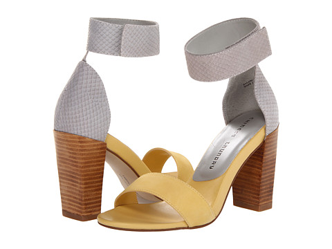 Chinese Laundry - Balance (Soft Yellow/Light Grey Nubuck) High Heels