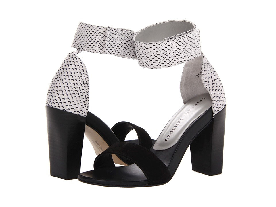 Chinese Laundry - Balance (Black/Winter White Leather) High Heels