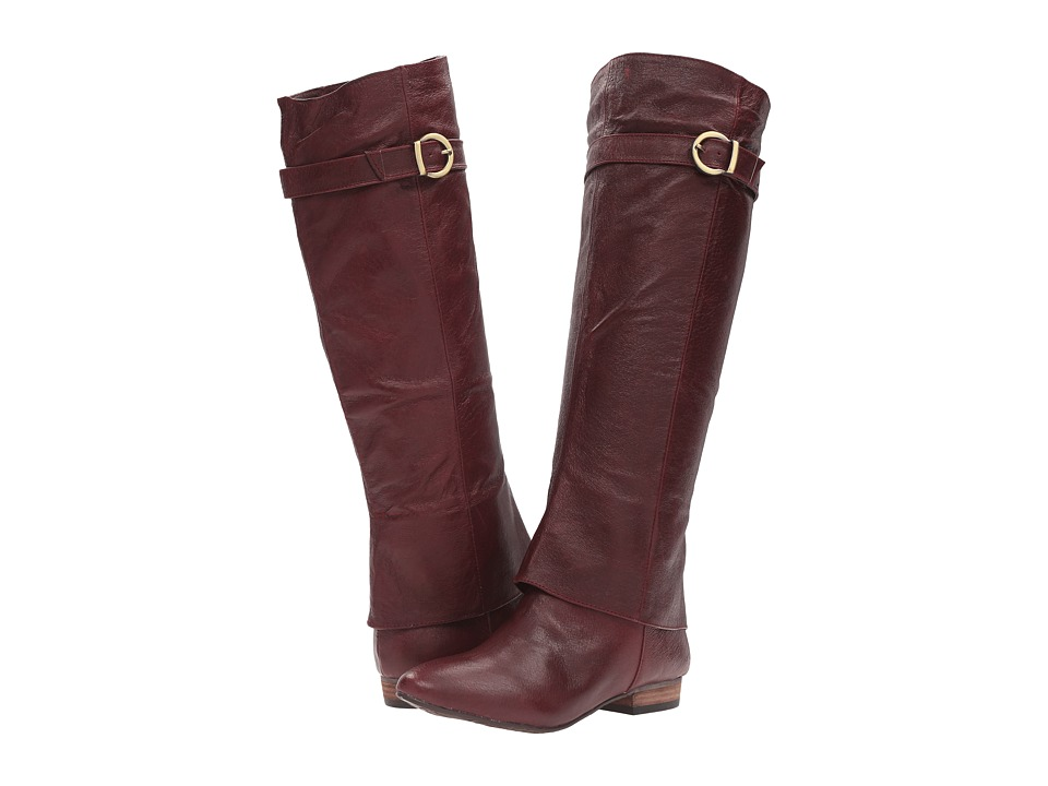 Chinese Laundry - Set In Stone (Bordeux Leather) Women's Pull-on Boots