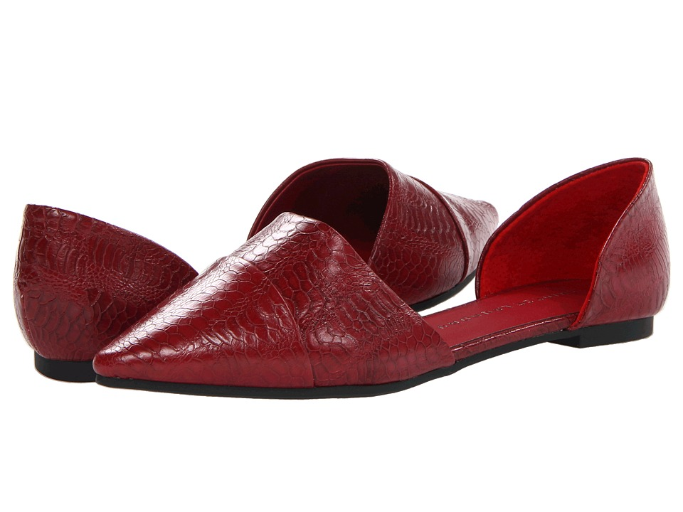Chinese Laundry - Easy Does It (Crimson Red Shine) Women's Slip on Shoes