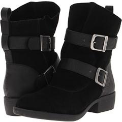 MIA Odettee (Black Suede) Footwear