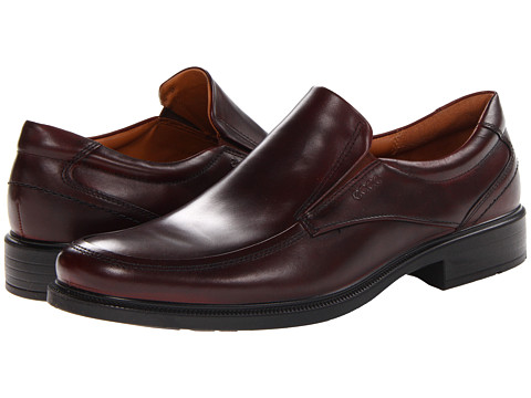 ECCO - Dublin Apron Toe Slip On (Rust Kalahari) Men's Slip-on Dress Shoes