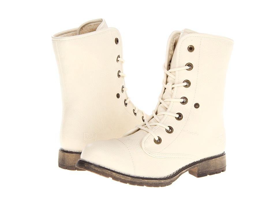 Dirty Laundry - Raeven (Off White) Women's Lace-up Boots