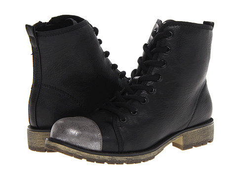 Dirty Laundry - Royal Flush (Black/Gunmetal) Women's Lace-up Boots