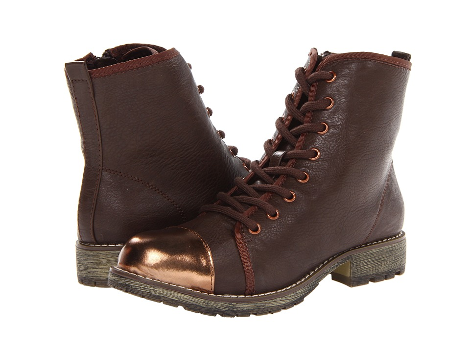 Dirty Laundry - Royal Flush (Dark Brown/Dark Brown) Women's Lace-up Boots