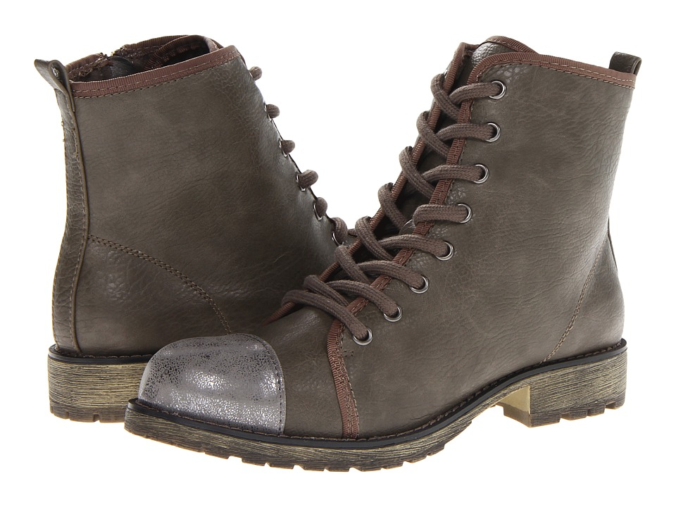 Dirty Laundry - Royal Flush (Gray/Gunmetal) Women's Lace-up Boots