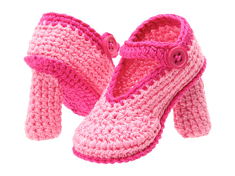 Jefferies Socks - High Heel Bootie (Infant) (Pink) Girls Shoes