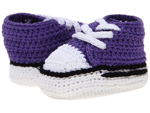 Jefferies Socks - Sneaker Bootie (Infant) (Purple) Kids Shoes