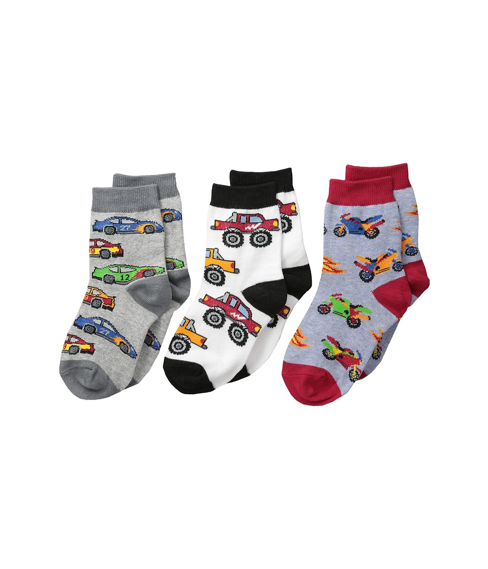 Jefferies Socks - Speedy Triple Treat (Infant/Toddler/Little Kid) (Speedy) Boys Shoes