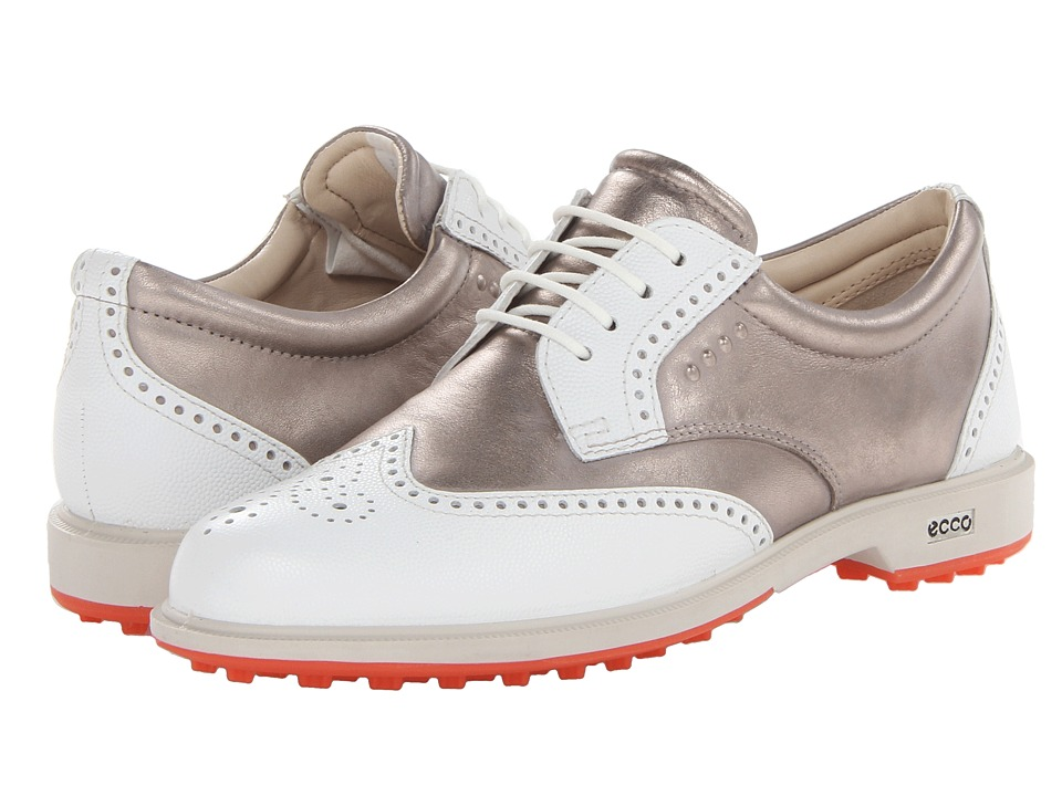 ECCO Golf - Classic Golf Hybrid (White/Moon Rock Pebble/Universe) Women