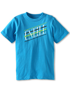 SALE! $14.49 - Save $4 on O`Neill Kids Chopstikz S S Tee (Big Kids) (Neon Blue) Apparel - 19.50% OFF $18.00