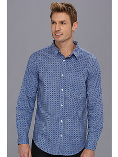 SALE! $16.99 - Save $32 on Type Z Brody Button Up (Royal) Apparel - 65.33% OFF $49.00