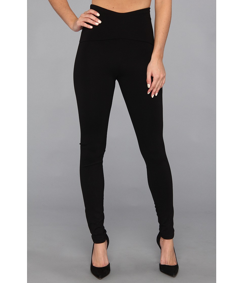 HUE - Shaping Legging (Black) Women's Casual Pants