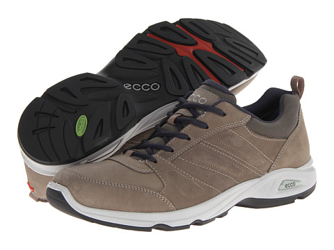 ECCO Sport - Light III (Warm Grey/Warm Grey Oil Nubuck/Textile) Men's Golf Shoes