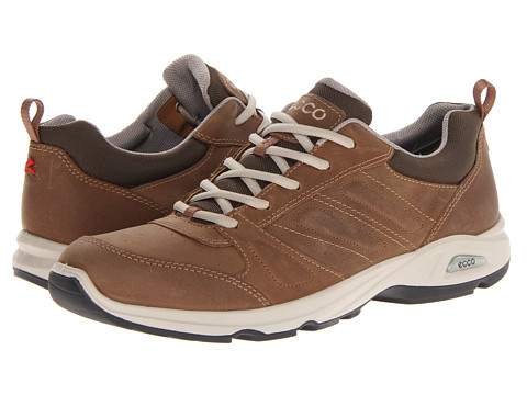 Ecco Performance - Light III (Camel/Cocoa Brown Oil Nubuck/Textile) Men's Golf Shoes
