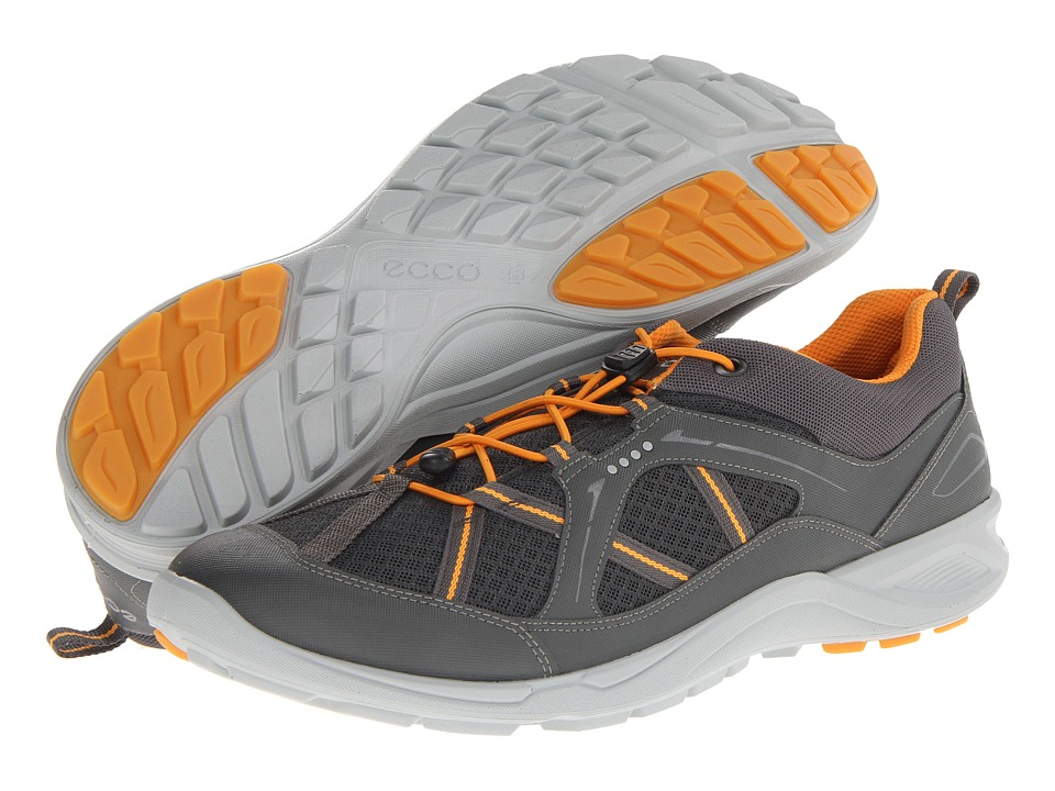 Ecco Performance - Terracruise (Dark Shadow/Dark Shadow/Spice Synthetic/Textile/Decoration) Men's Running Shoes