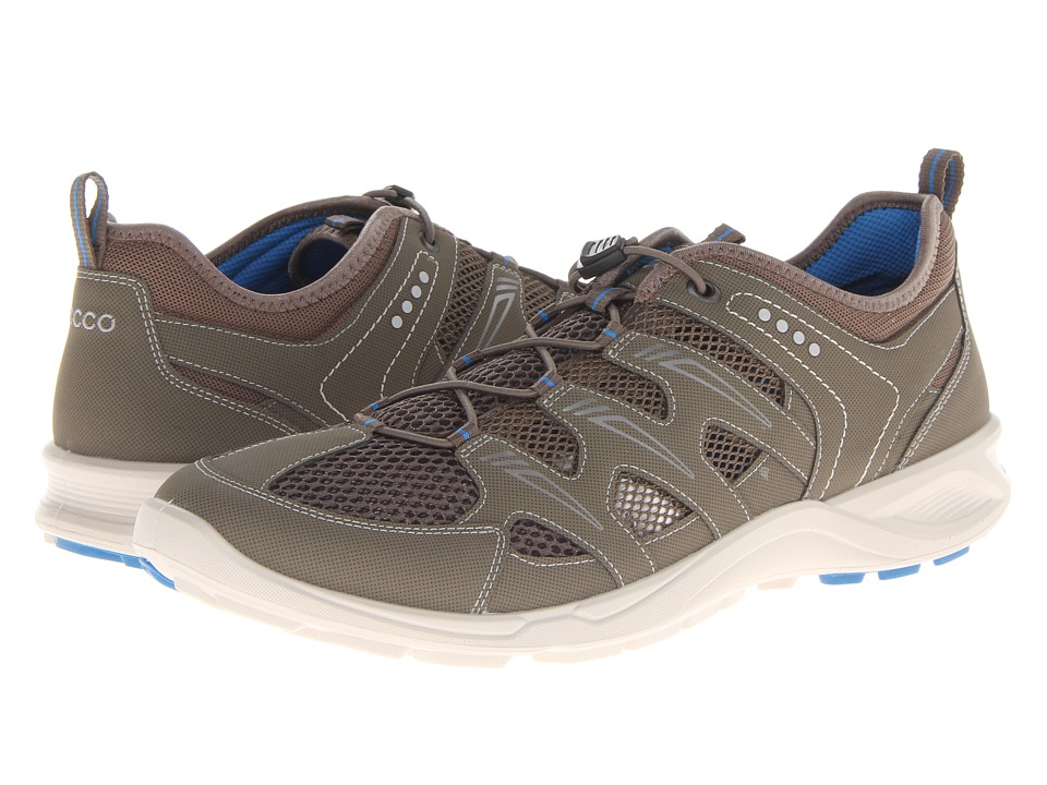 ECCO Sport - Terracruise Lite (Warm Grey/Dark Clay/Dynasty Synthetic/Textile/Decoration) Men's Running Shoes