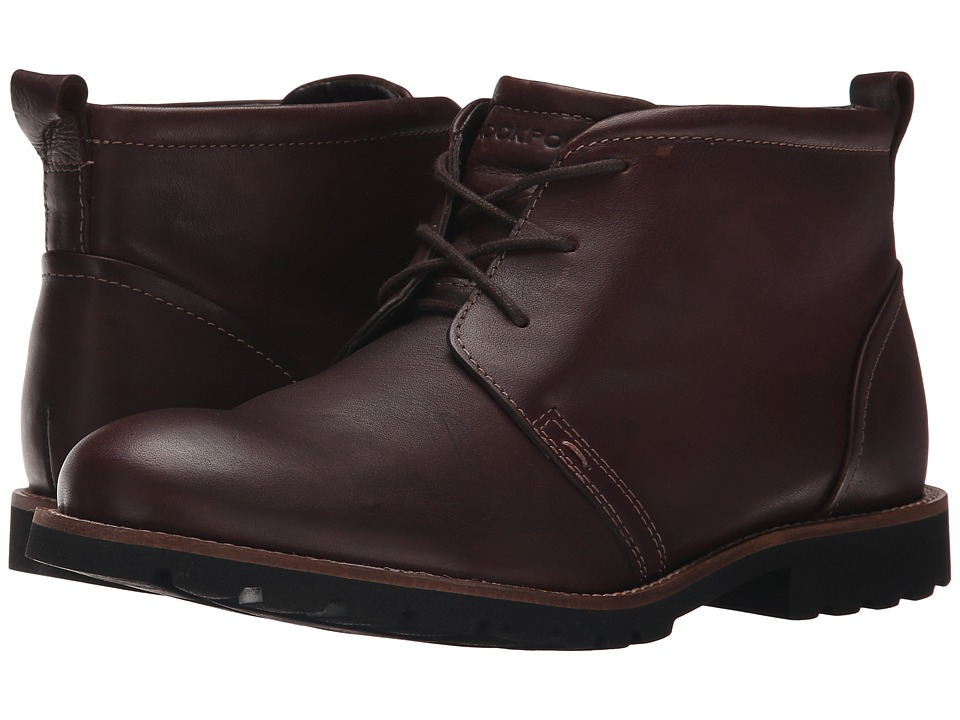 Rockport - Charson (Chocolate) Men's Lace-up Boots