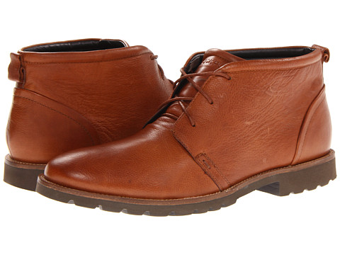 Rockport - Charson (Dark Tan) Men's Lace-up Boots