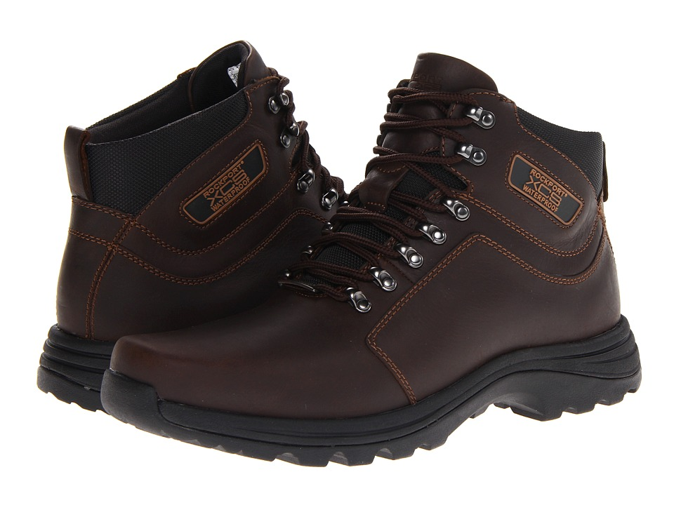 Rockport Elkhart Chocolate Mens Hiking Boots