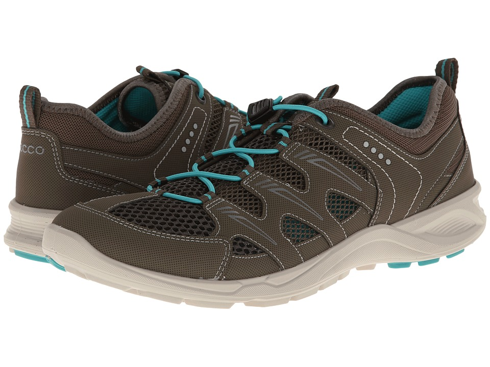 ECCO Sport - Terracruise Lite (Warm Grey/Dark Clay/Turquoise Synthetic/Textile/Decoration) Women's Shoes