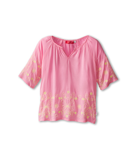 Seafolly Kids - Tahiti Sweetie Kaftan (Infant/Toddler/Little Kids) (Lollipop) Girl's T Shirt