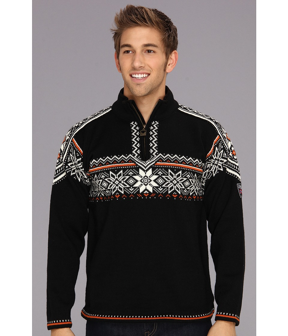 Dale of Norway - Holmenkollen Masculine (F-Black/Off White/Sunset) Men's Clothing