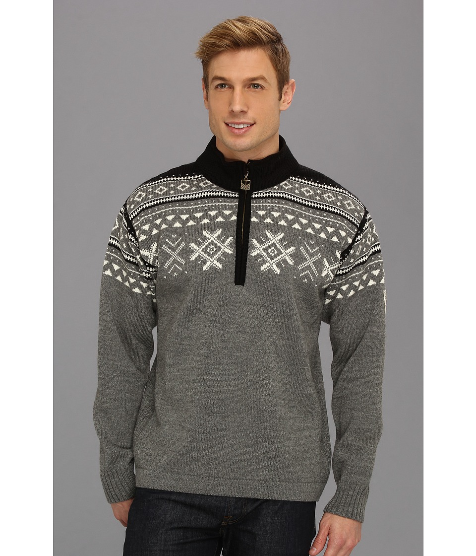 Dale of Norway - Dovre (E-Smoke/Off White/Black) Men's Sweater