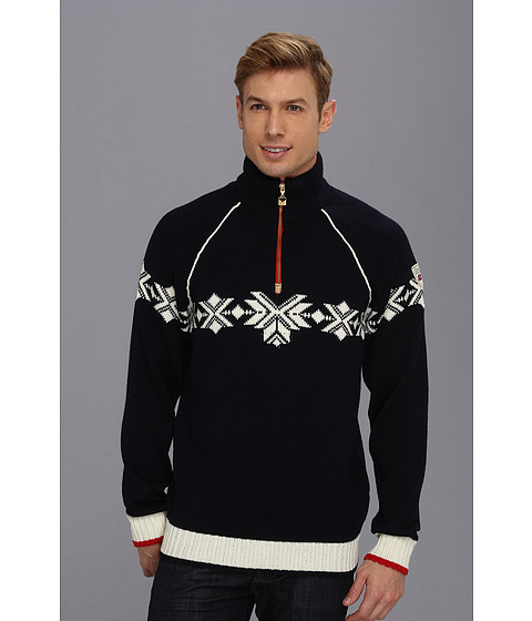 Dale of Norway - Sochi Masculine Sweater (C-Navy/Off White/Raspberry) Men