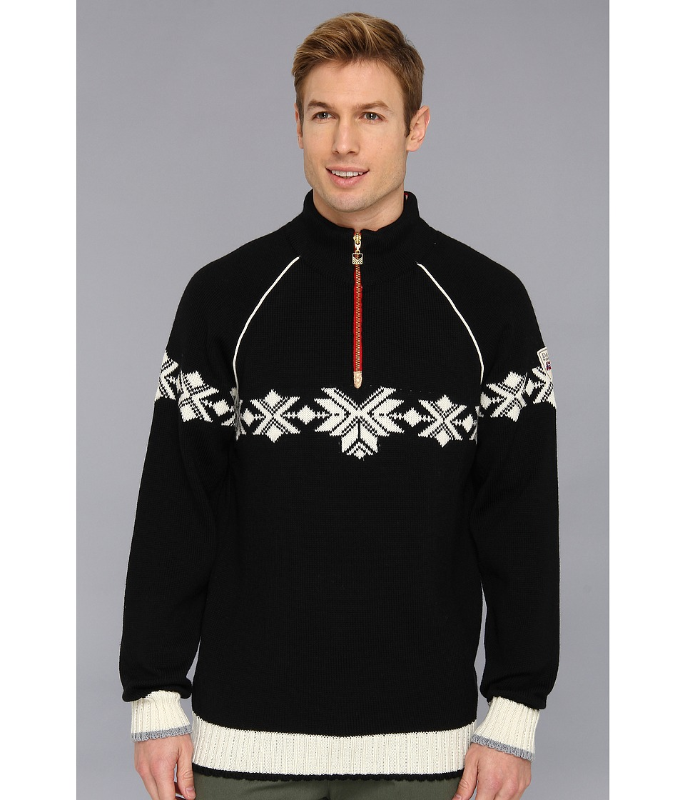 Dale of Norway - Sochi Masculine Sweater (F-Black/Off White/Cobalt) Men's Sweater