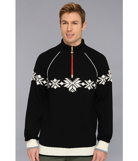 Dale of Norway - Sochi Masculine Sweater (F-Black/Off White/Cobalt) Men