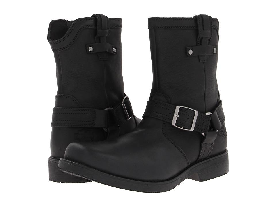 Harley-Davidson Corey (Black) Cowboy Boots