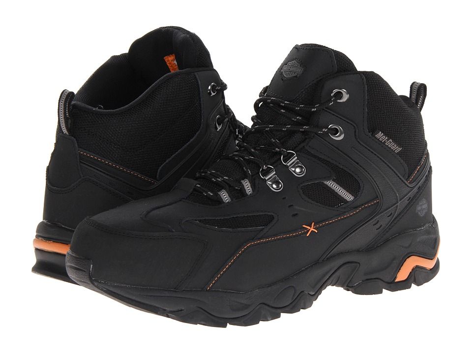 Harley-Davidson - Hans (Black Steel Toe) Men's Work Boots
