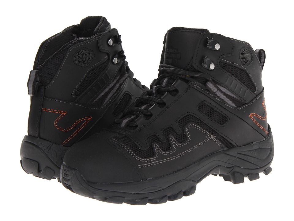 Harley-Davidson Millan (Black Steel Toe) Men