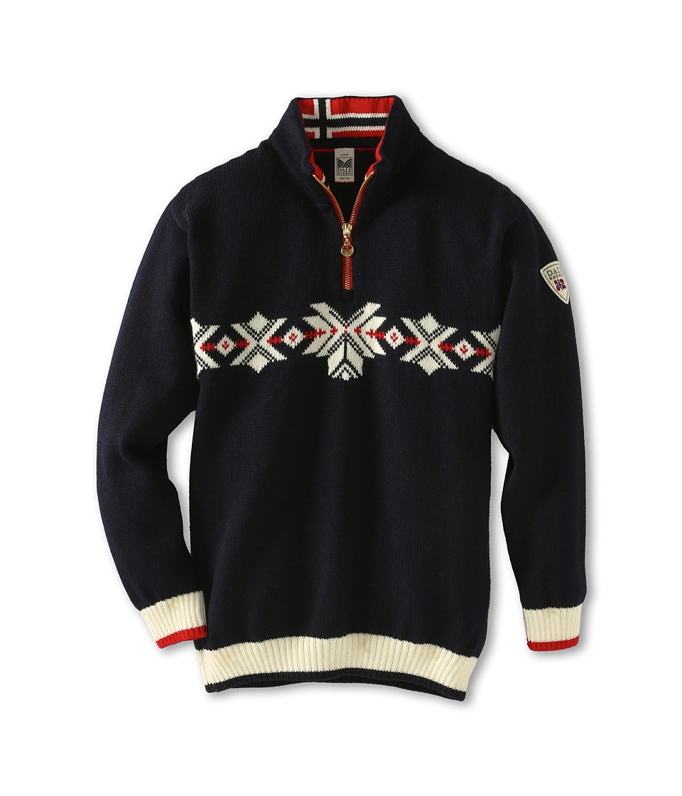 Dale of Norway - Sochi Sweater (Toddler/Little Kids/Big Kids) (C-Navy/Off White/Raspberry) Sweater