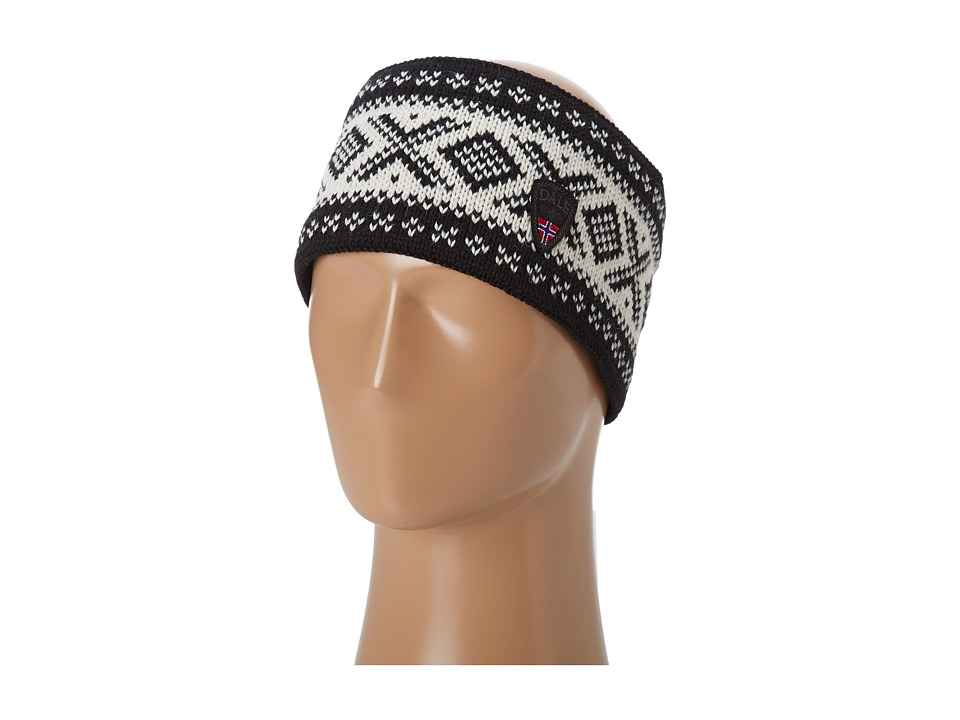 Dale of Norway - Original 1956 Headband (F-Black/Off White) Knit Hats