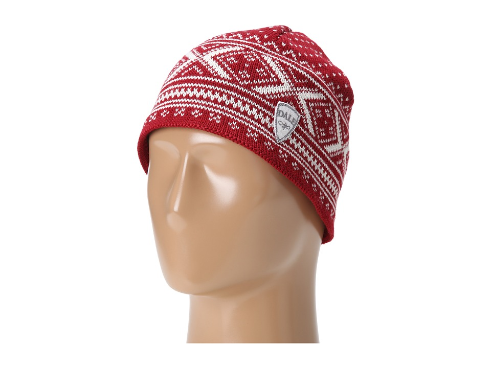 Dale of Norway - Vintage Hat (B-Red Rose/Off White) Knit Hats