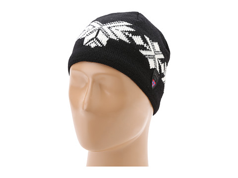 Dale of Norway - Sochi Masculine Hat (F-Black/Off White) Knit Hats