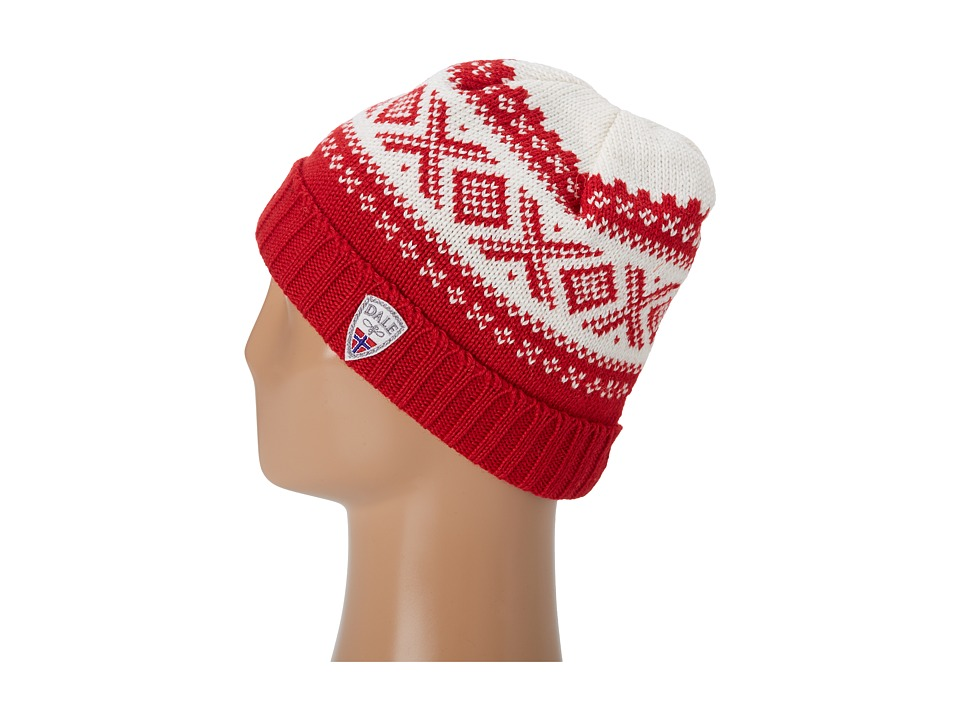 Dale of Norway - Original 1956 Hat (B-Raspberry/Off White) Knit Hats