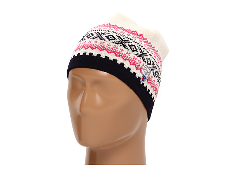 Dale of Norway - Kongsvollen Hat (A-Off White/Navy/Allium) Knit Hats