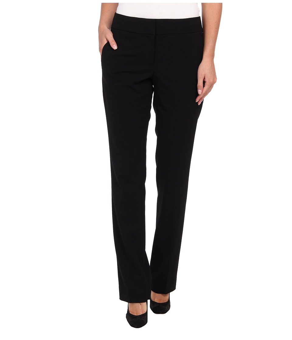 Vince Camuto - Straight Leg Trouser (Rich Black) Women's Casual Pants
