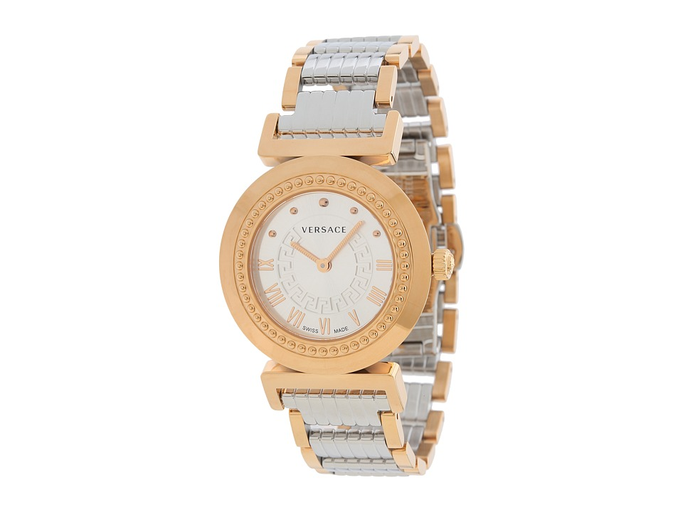 Versace - Vanity P5Q80D499 S089 (Gold/Silver) Watches