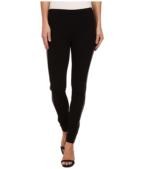 TWO by Vince Camuto - Pleather Trim Legging (Rich Black) Women's Casual Pants